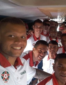 Boa Esporte já está a caminho de Roraima para estreia na Copa do Brasil (Foto: Reprodução Facebook Boa Esporte)