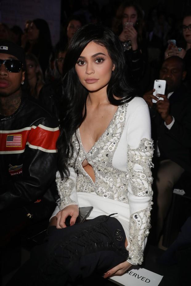 Kylie Jenner na semana de moda de Nova York (Foto: Antonio de Moraes Barros Filho/ Getty Images)