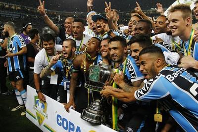 O Grêmio é o atual campeão da Copa do Brasil (Foto: Lucas Uebel/Divulgação Grêmio)