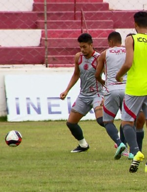 Tricordiano já se prepara para enfrentar o Cruzeiro no domingo (Foto: Reprodução EPTV)