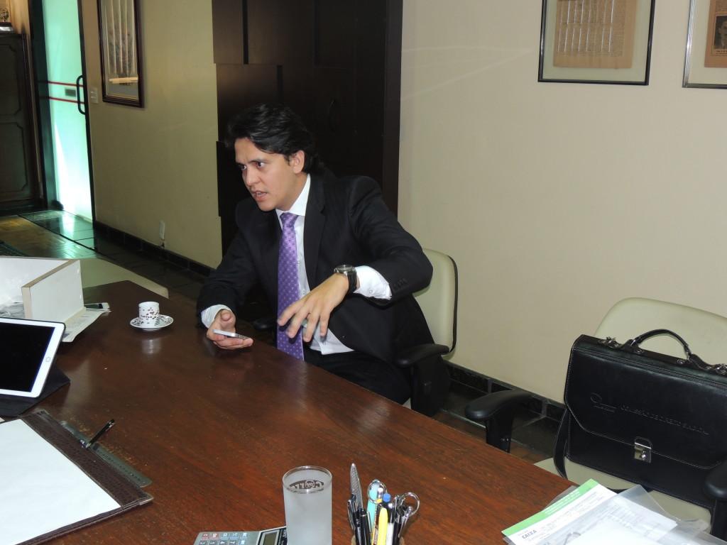 Presidente da Comissão OAB Cidadã, Dr. Giovanni, visitou a redação do CSul e falou sobre o desenvolvimento e as expectativas do projeto