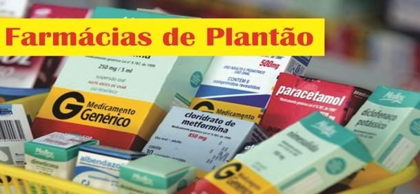 Plantão de Farmácias