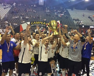 Corinthians é o atual campeão da Liga Paulista de Futsal (Foto: Guilherme Costa)