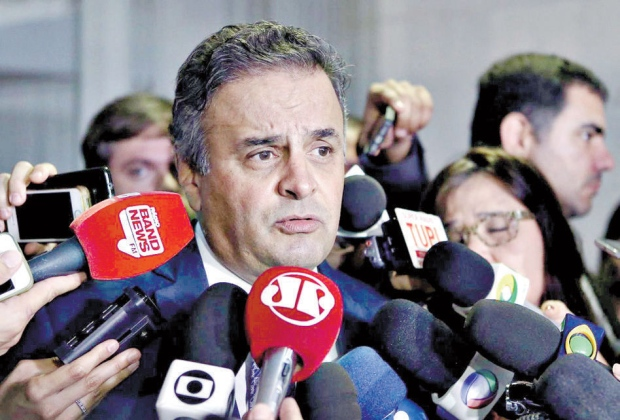 Gilmar Mendes suspende interrogatório de Aécio na Lava Jato sobre Furnas