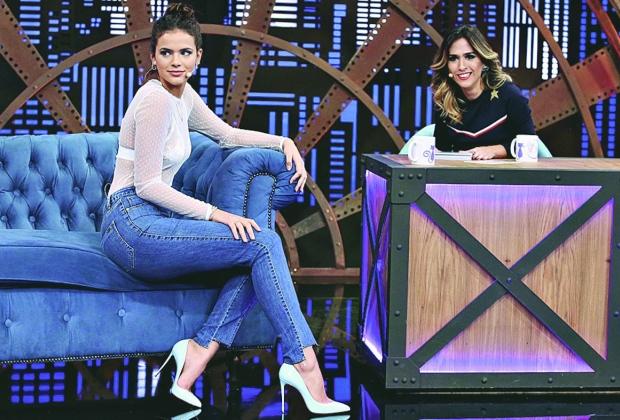"""Estreia. A atriz Bruna Marquezine será a primeira entrevistada de Tatá Werneck no """"Lady Night"""""""