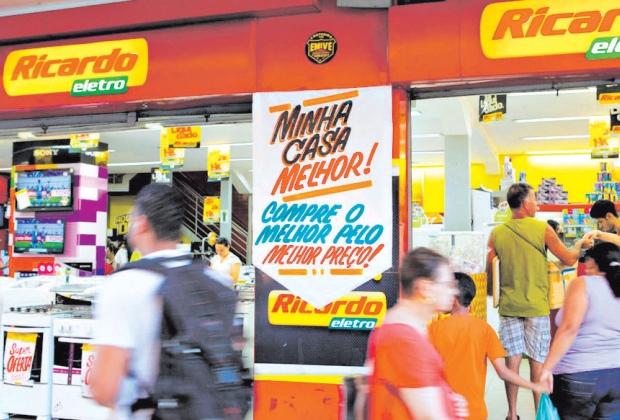 Varejo. Ricardo Eletro é uma das redes de lojas da Máquina de Vendas, do mineiro Ricardo Nunes
