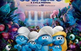 Smurfs e a Vila Perdida é um dos filmes em cartaz no Cinemark Varginha
