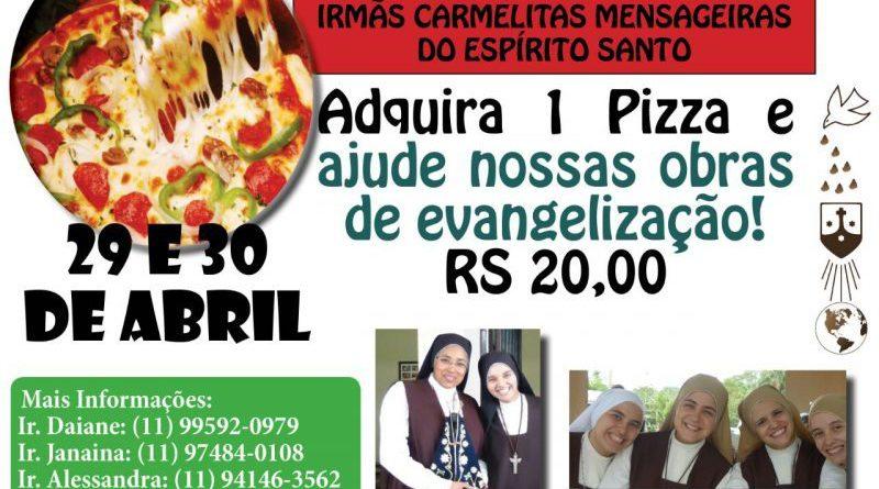 Valor arrecadado será para ajudar o convento das Irmãs Carmelitas Mensageiras do Espírito Santo