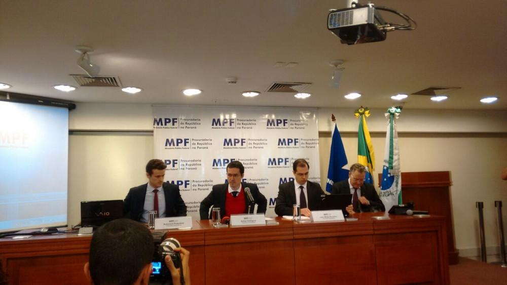 Força-tarefa da Lava Jato fala sobre a nova denúncia contra José Dirceu (Foto: Adriana Justi/G1)