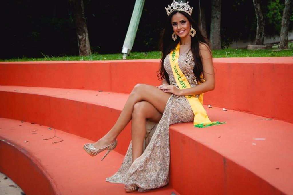 Atual Rainha da Expocafé - Ana Luiza Mesquita (Foto: Divulgação / Willian Rosa)