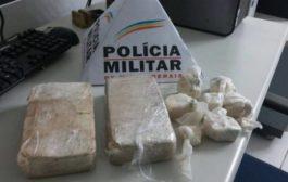 Dois homens são pressos com crack e cocaína em Varginha