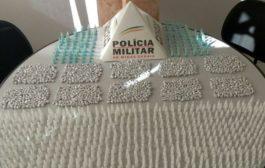 Na cidade de São Lourenço Polícia Militar faz apreensão de grande quantidade de drogas