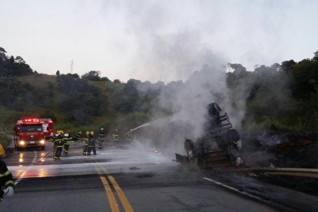 Dois acidentes graves provocam mortes de motoristas em Carmo da Cachoeira e Paraguaçu