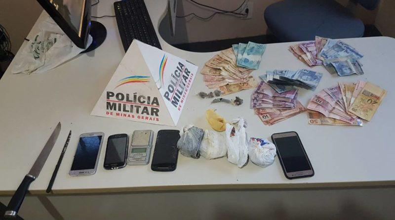 PM prende suspeitos por tráfico de drogas no Catanduvas