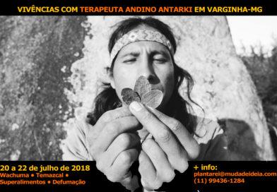 Varginha receberá terapeuta andino da região de Machu Picchu