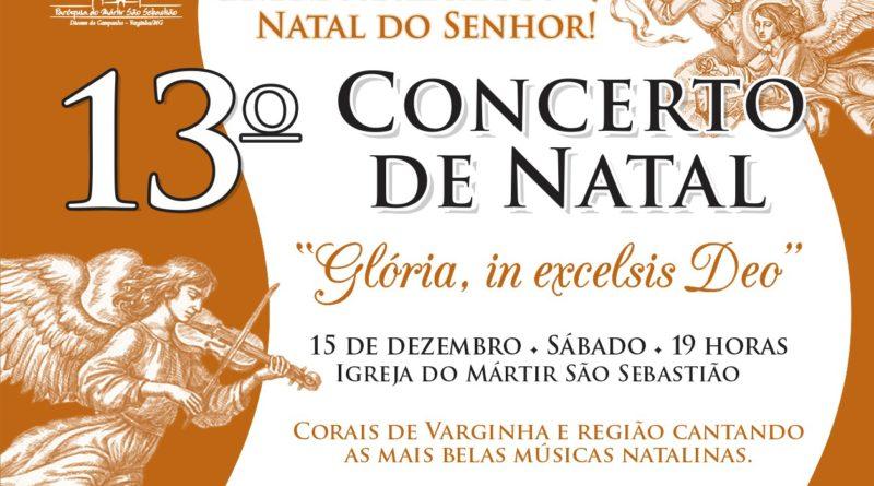 13º Concerto de Natal da Paróquia do Mártir acontece neste sábado