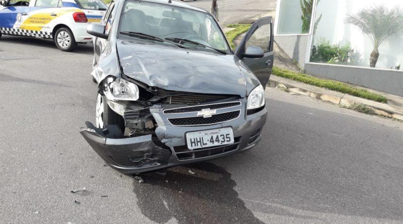 Motociclista fica ferido após acidente no bairro Vila Verde