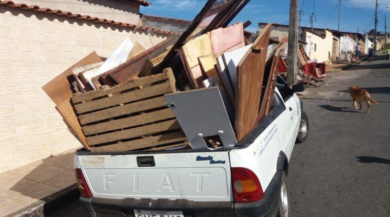 Mutirão da Dengue recolheu 23 caminhões de lixo no Corcetti