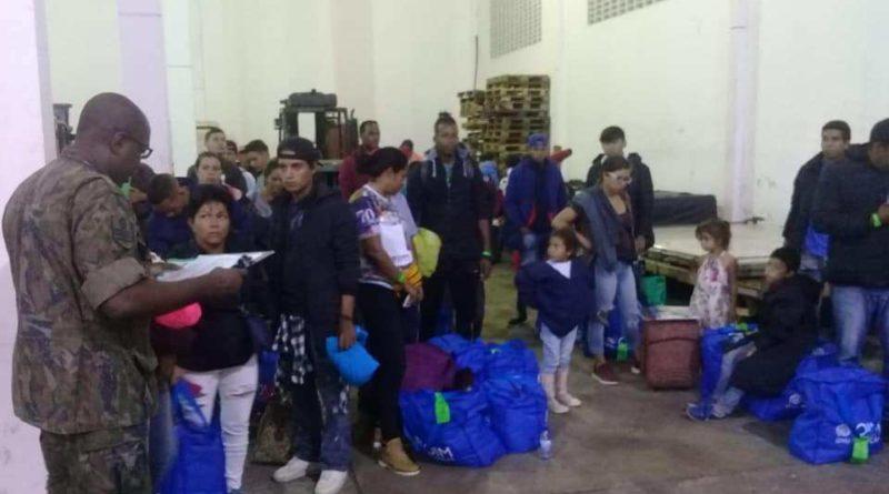 Refugiados da Venezuela chegam a Varginha neste sábado