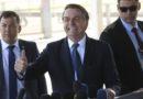 Bolsonaro vai conversar com Angela Merkel sobre combate às queimadas