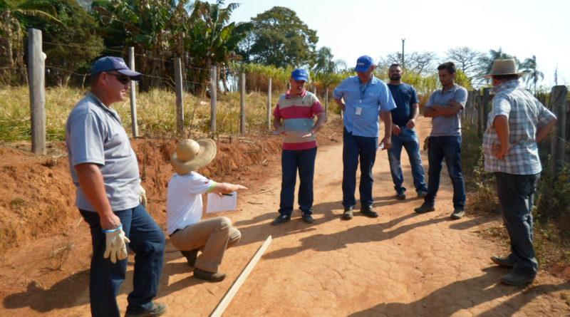 Vice-prefeito participa da abertura do treinamento do adequação de estradas rurais