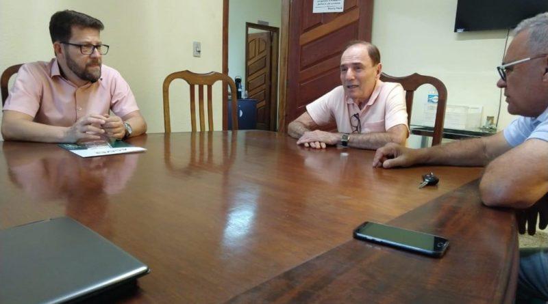 ACIV e prefeito se reúnem para falar sobre as obras de revitalização do Centro