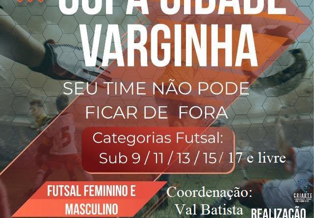Inscrições abertas para Copa Varginha de Futsal em dezembro