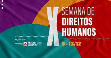 Governo de Minas Gerais promove 10ª Semana de Direitos Humanos