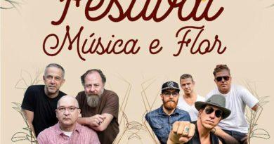 Festival Música e Flor leva 'Os Paralamas do Sucesso' e 'Tianastácia' à Três Pontas em maio