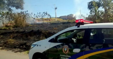 Guarda Municipal faz alerta quanto às queimadas