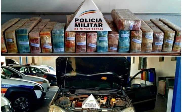 Polícia Militar apreende quase 1 milhão dentro de carro em Paraguaçu