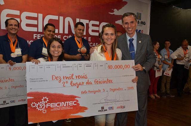 Equipe de Diamantina conquistou o segundo lugar – Foto: Divulgação