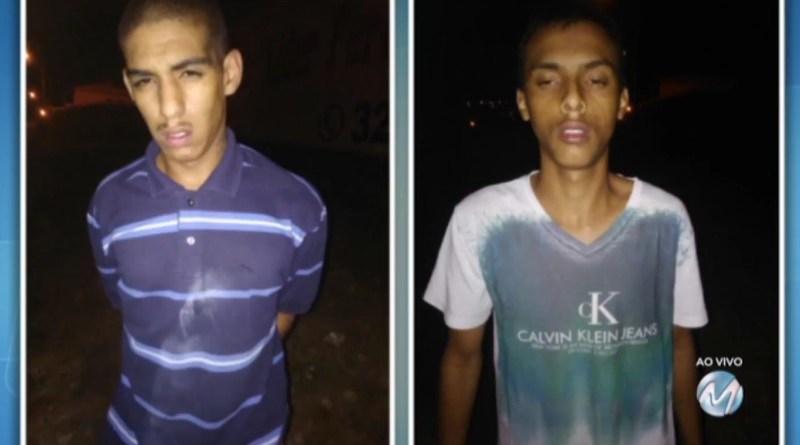 De posse das características dos suspeitos as buscas foram iniciadas e dois jovens foram abordados nas proximidades, carregando a garrafa de bebida do supermercado. Ambos de 19 anos, eles assumiram o furto e foram presos em flagrante