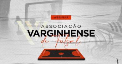 Associação Varginhense de Futsal celebra realização de Webinar