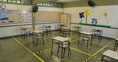 Estudantes da rede estadual retornam às escolas em Minas Gerais